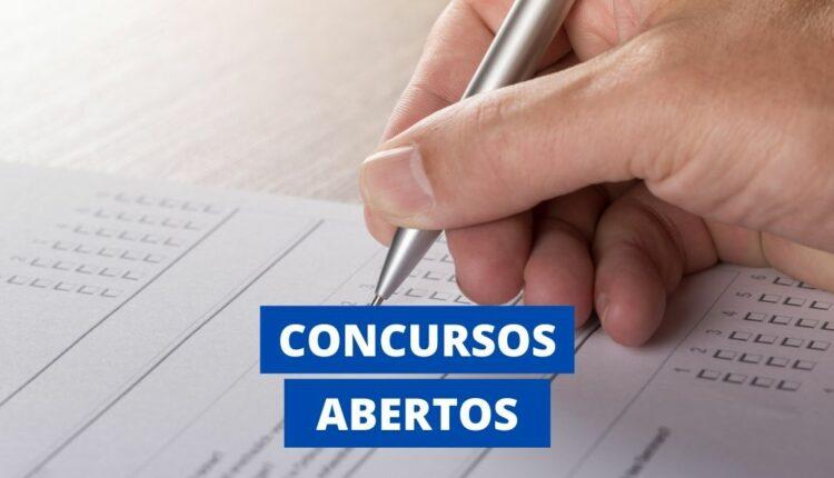 Concursos abertos no Brasil: mais de 13 MIL vagas em disputa!