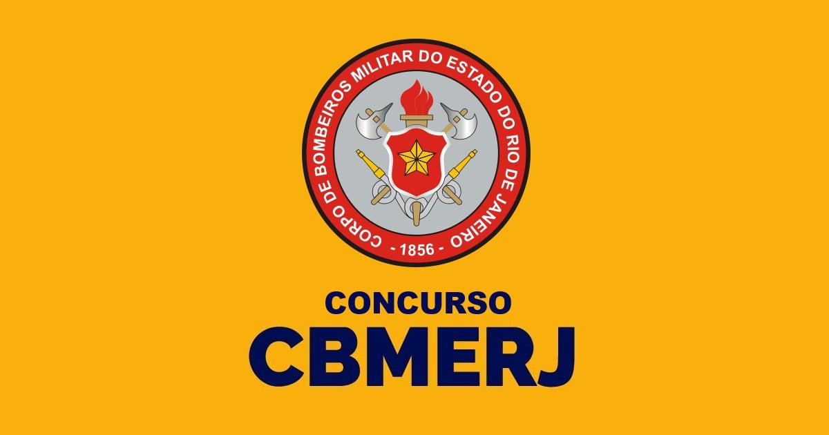 Inscrições para o concurso de bombeiros do RJ 2020 começam no dia 18.