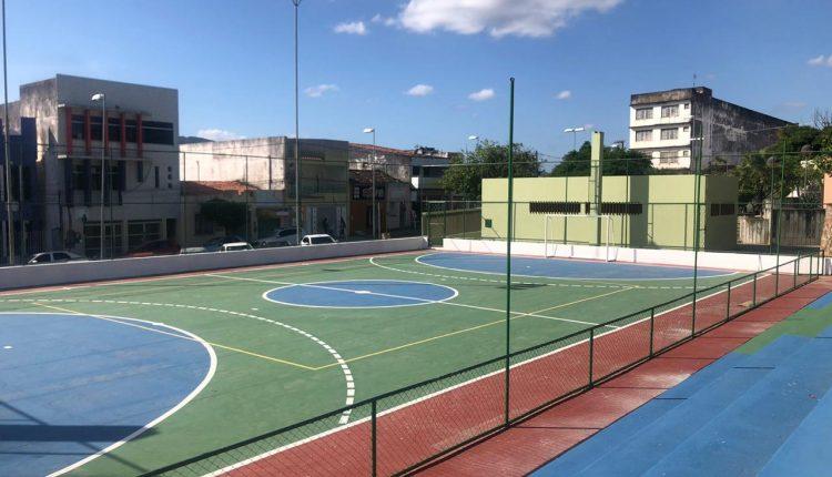 Governo baiano realiza obras esportivas em cidades do interior do estado.