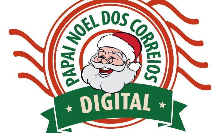 Papai Noel dos Correios 2020: logo da campanha Papai Noel dos Correios