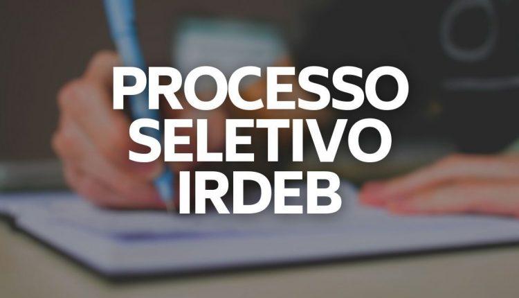 As vagas ofertadas no processo seletivo IRDEB Bahia serão temporárias.