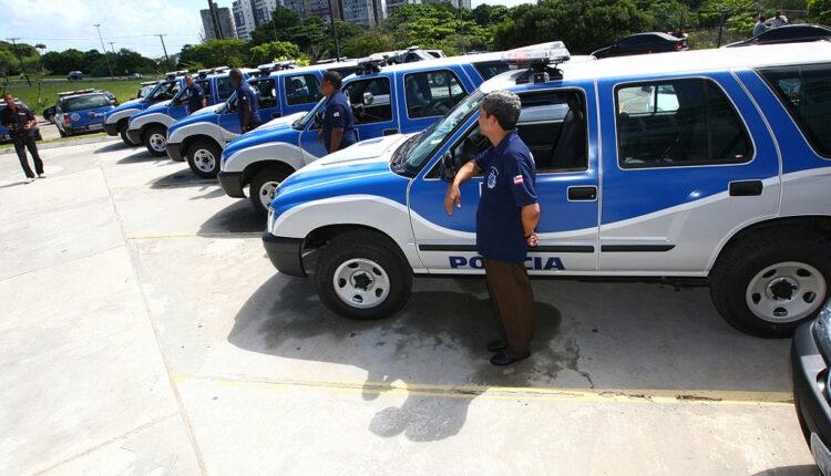 Viaturas da Polícia Civil da Bahia
