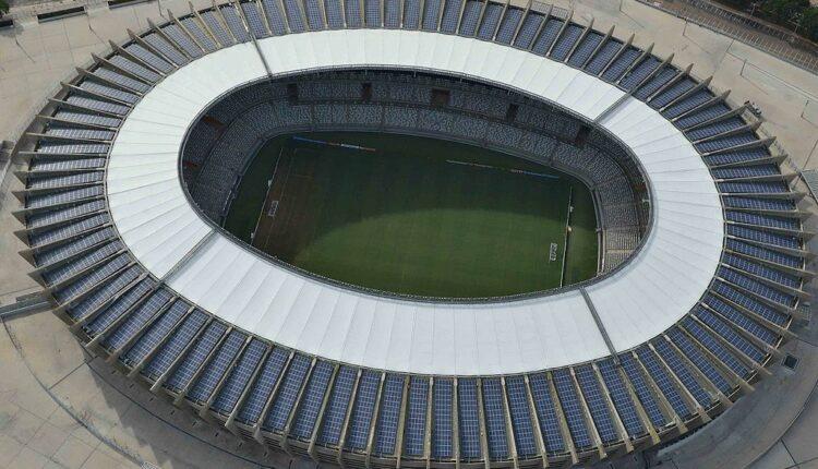 Atlético-MG X Boca Juniors: Mineirão visto de cima