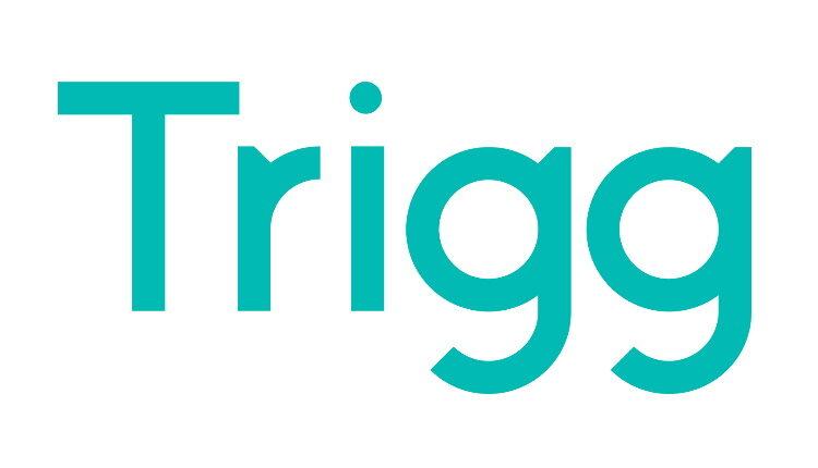 Cartão Trigg: logo da empresa Trigg