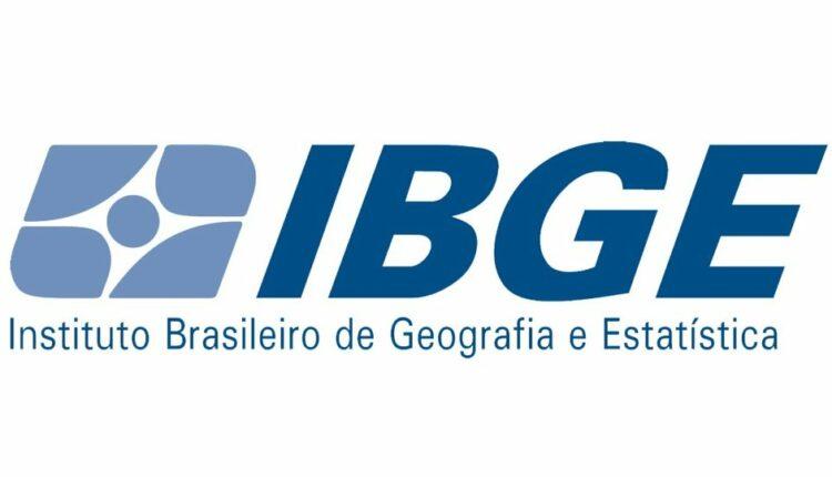 Concurso IBGE Censo: logo marca do IBGE