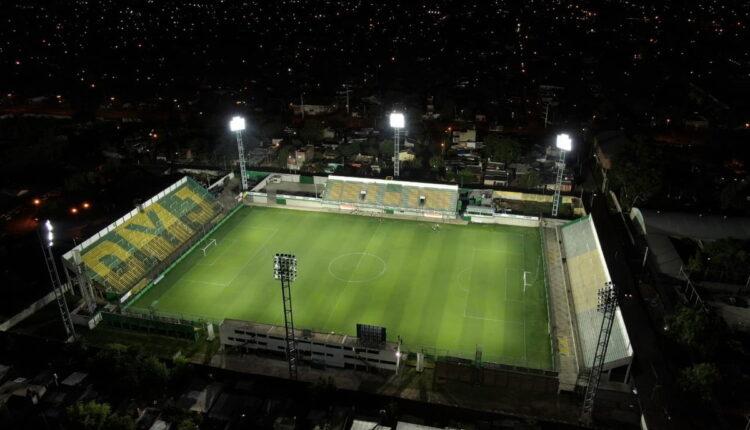Defensa y Justicia x Flamengo: estádio de futebol