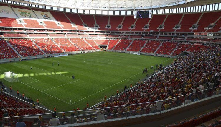 Flamengo x Defensa y Justicia: estádio Mané Garrincha