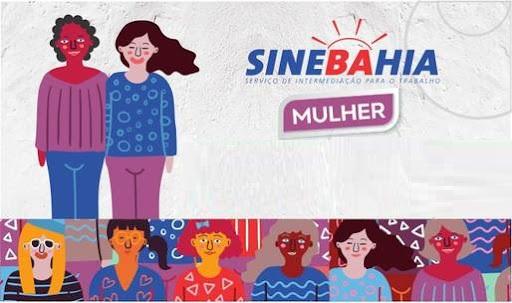 SineBahia Mulher: banner do SineBahia Mulher