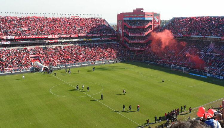 Santos x Independiente Sul-americana: visão interna do Estádio Libertadores da América